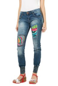 Desigual Africa arrow rep Jeans
