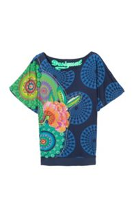 Desigual Eve rep T-shirt