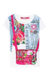 Desigual Girls Bag Rep T-shirt
