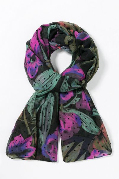 Desigual Aruna Rectangle Scarf