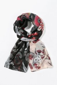 Desigual Rectangle Japanfr Foulard