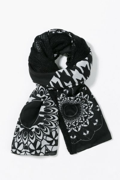 Desigual Geofresh Mixto Foulard