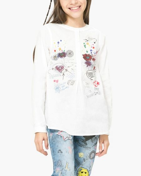 Desigual Girl Clumber Shirt