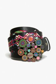 Desigual Chapon Xl Wild Rose Belt