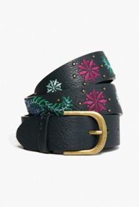 Desigual Embroidery Trabill Belt
