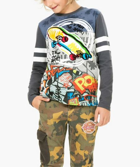 Desigual Boy Fermin Cotton T-Shirt