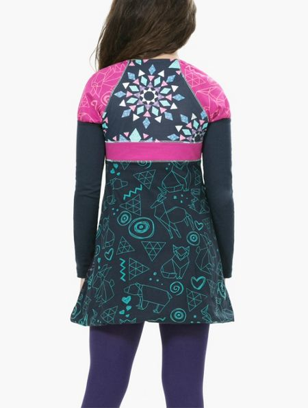 Desigual Girl Yamusukro Dress
