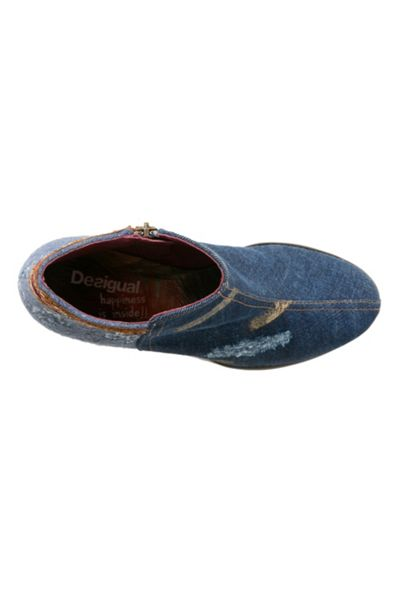 Desigual Denim Patch Country Shoes