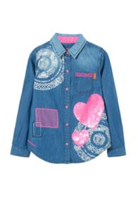 Desigual Girls Denim Shirt