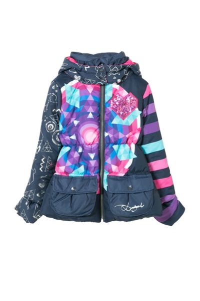 Desigual Girls Grusoni Coat