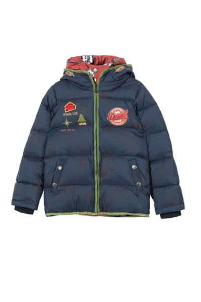 Desigual Boys Menta Padded Coat