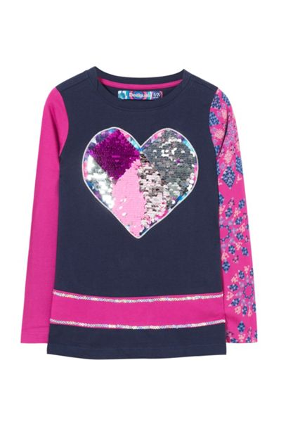 Desigual Girl Maine Cotton T-Shirt
