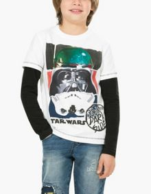 Desigual Boys Torn T-Shirt