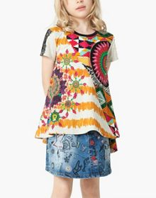 Desigual Girl Albany Rep T-Shirt