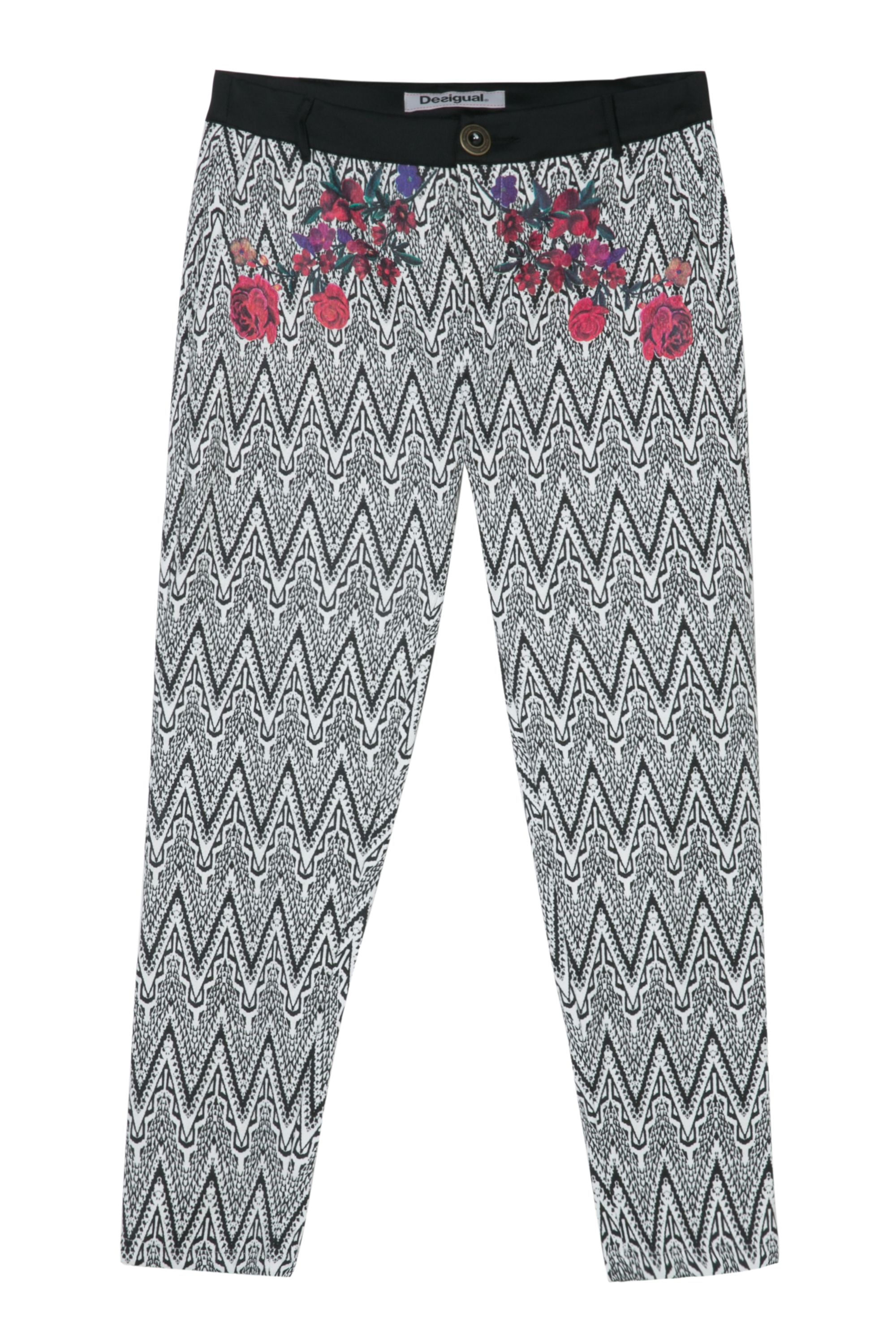 Desigual Trousers Aroa, Black
