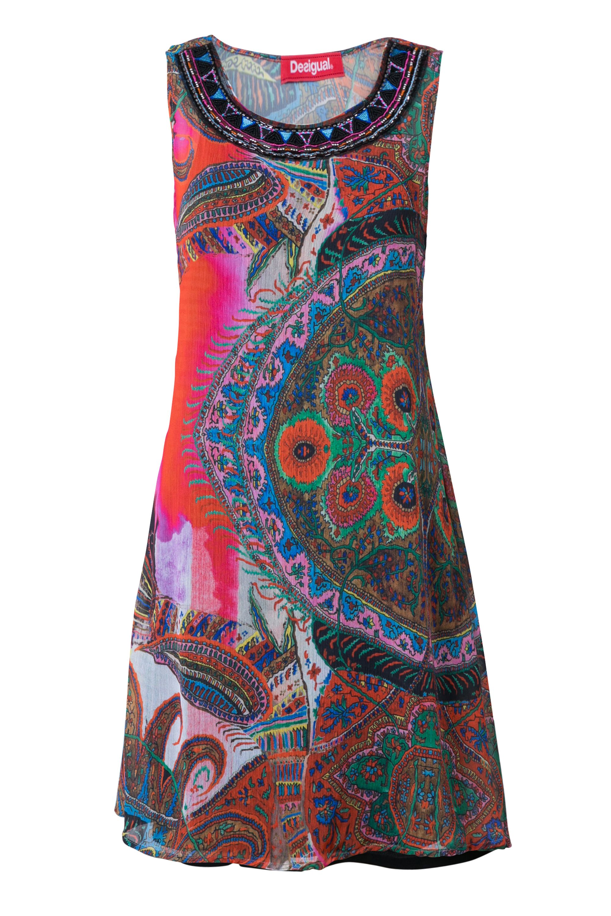 Desigual Dress Marin, Red