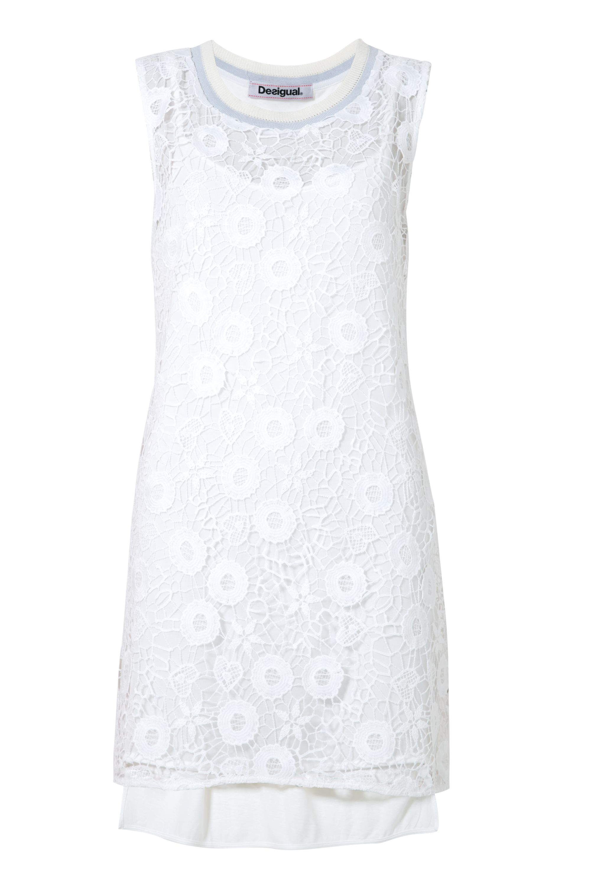 Desigual Dress Mauricio, White