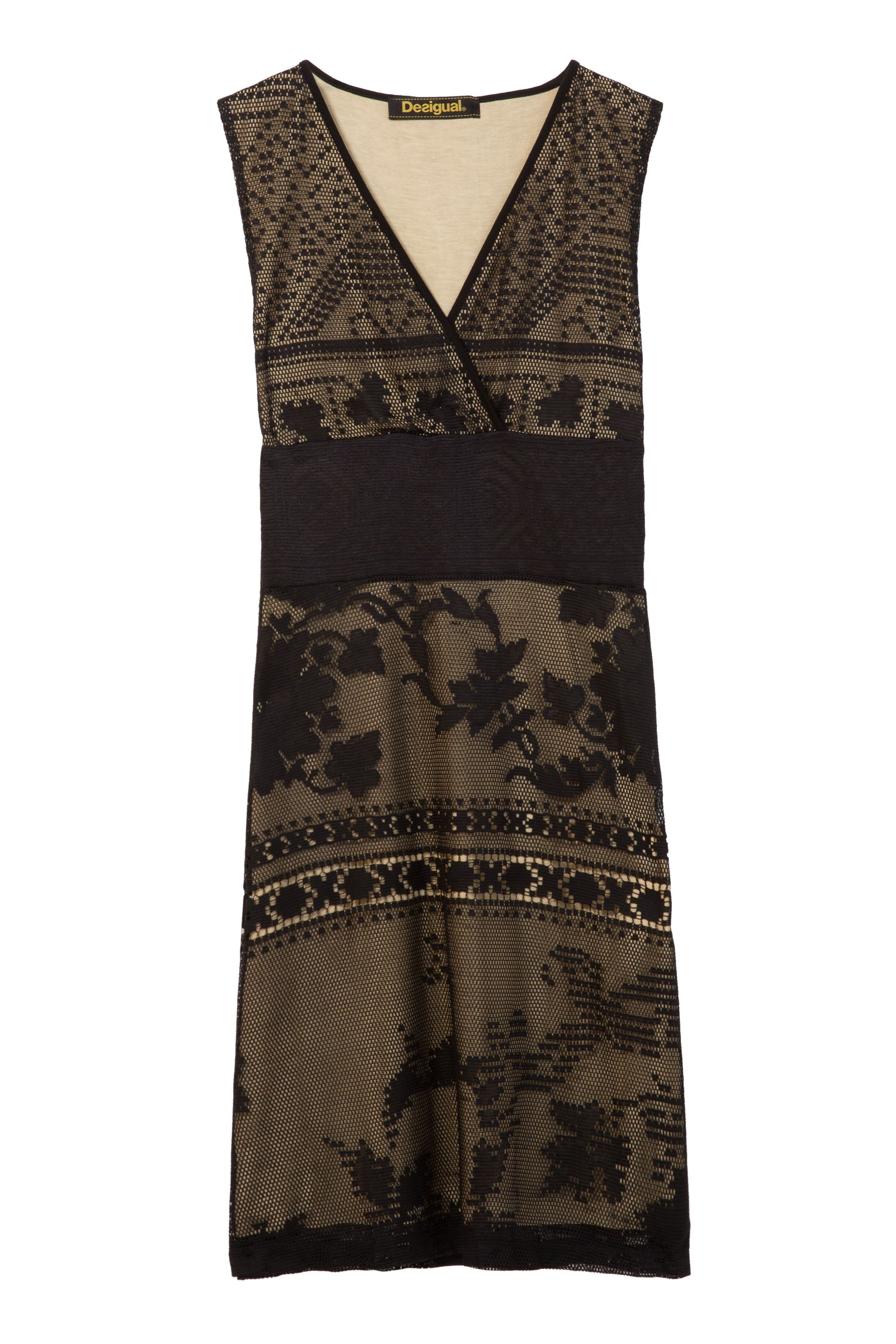 Desigual Dress Elga, Black