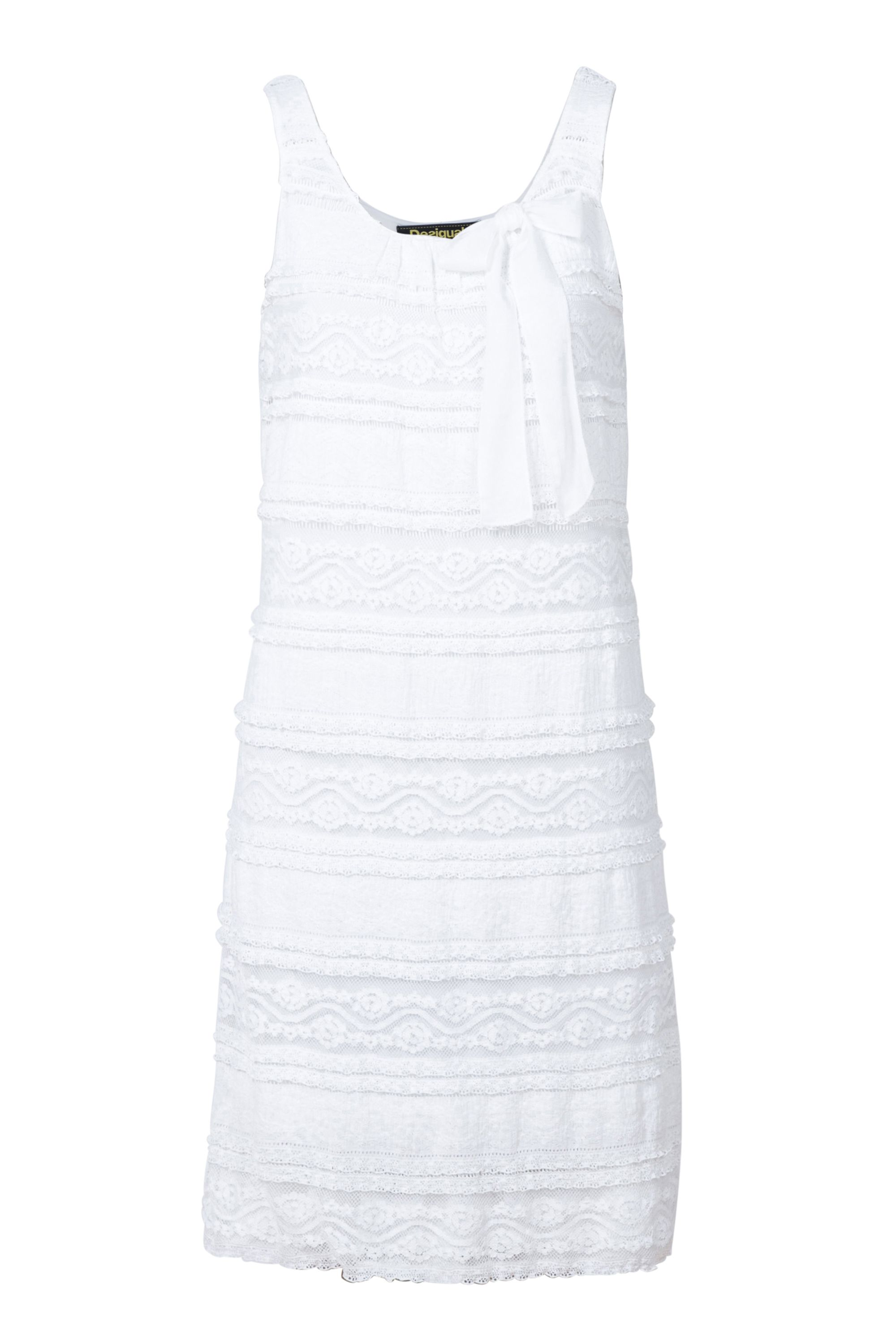 Desigual Dress Mayo, White