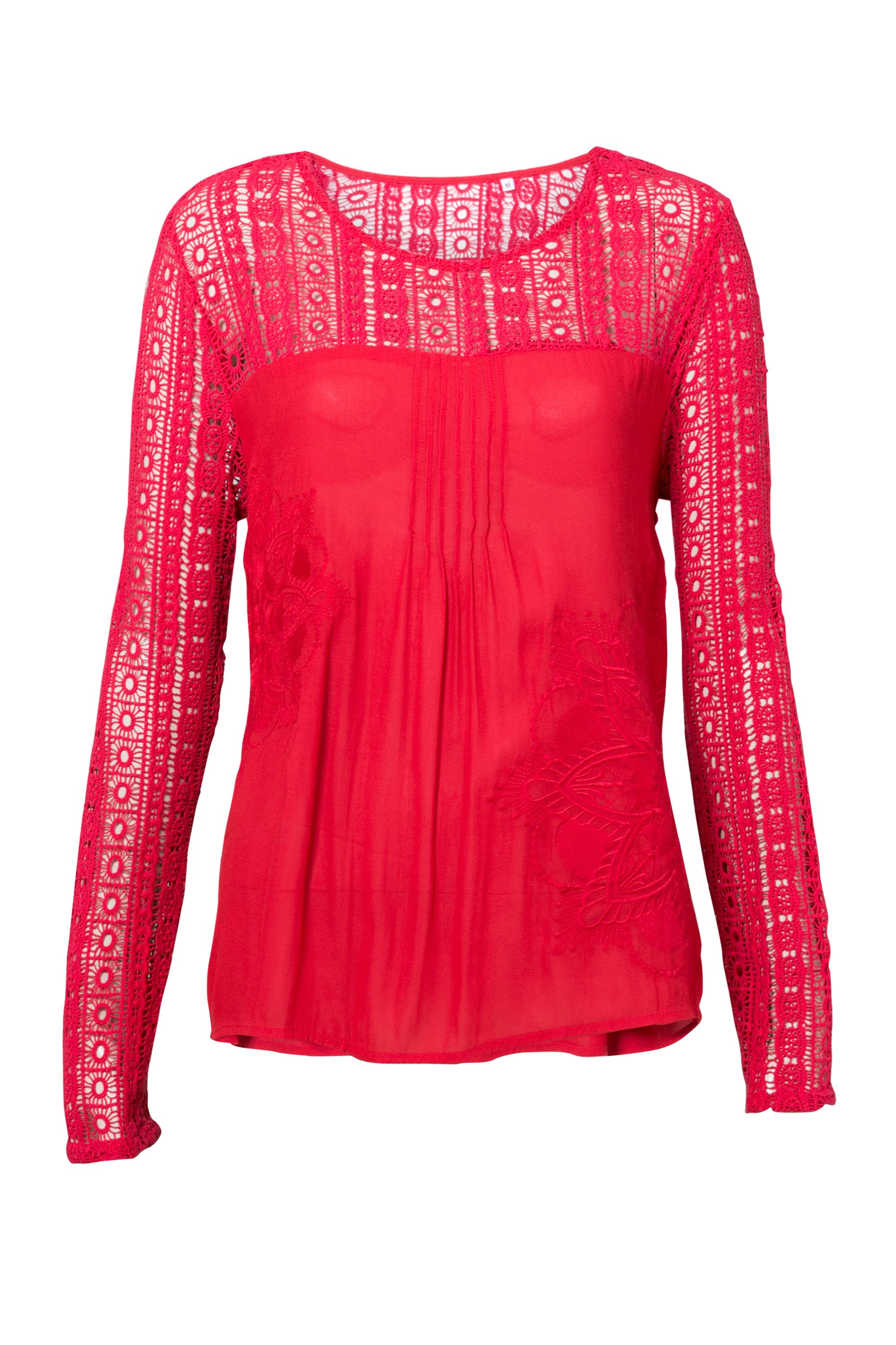 Desigual Blouse Irea, Red