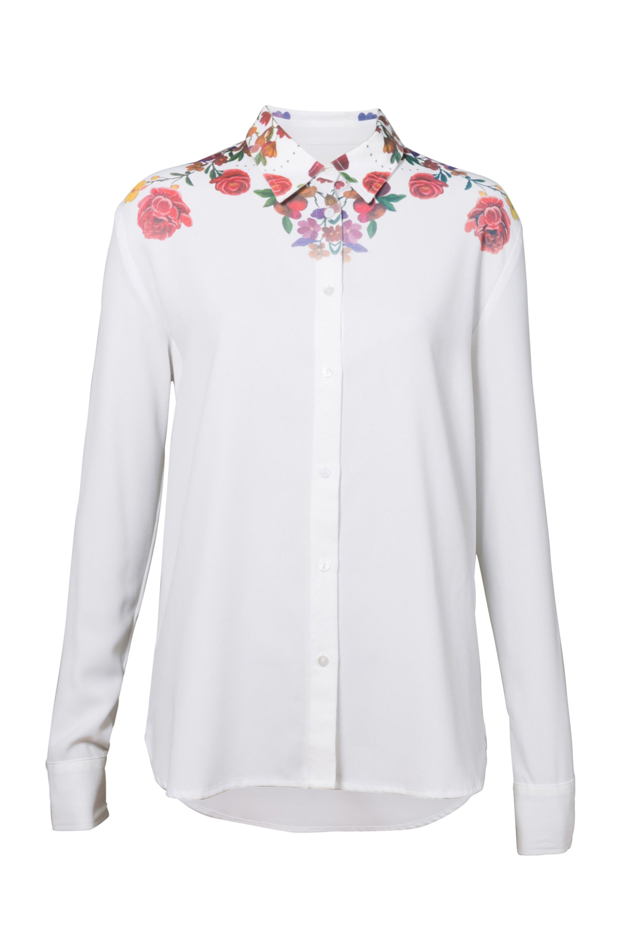 Desigual T-Shirt Yes, White