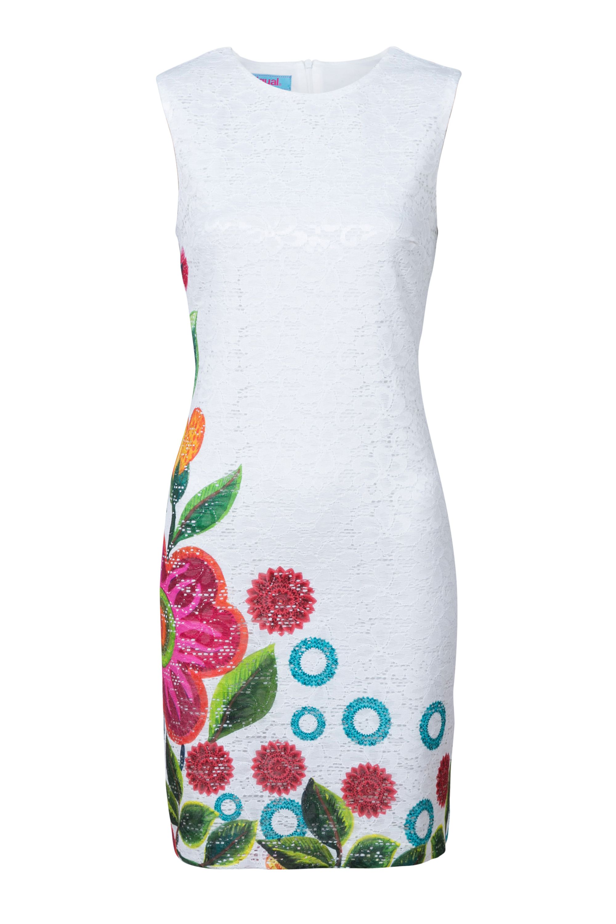 Desigual Dress Blues, White