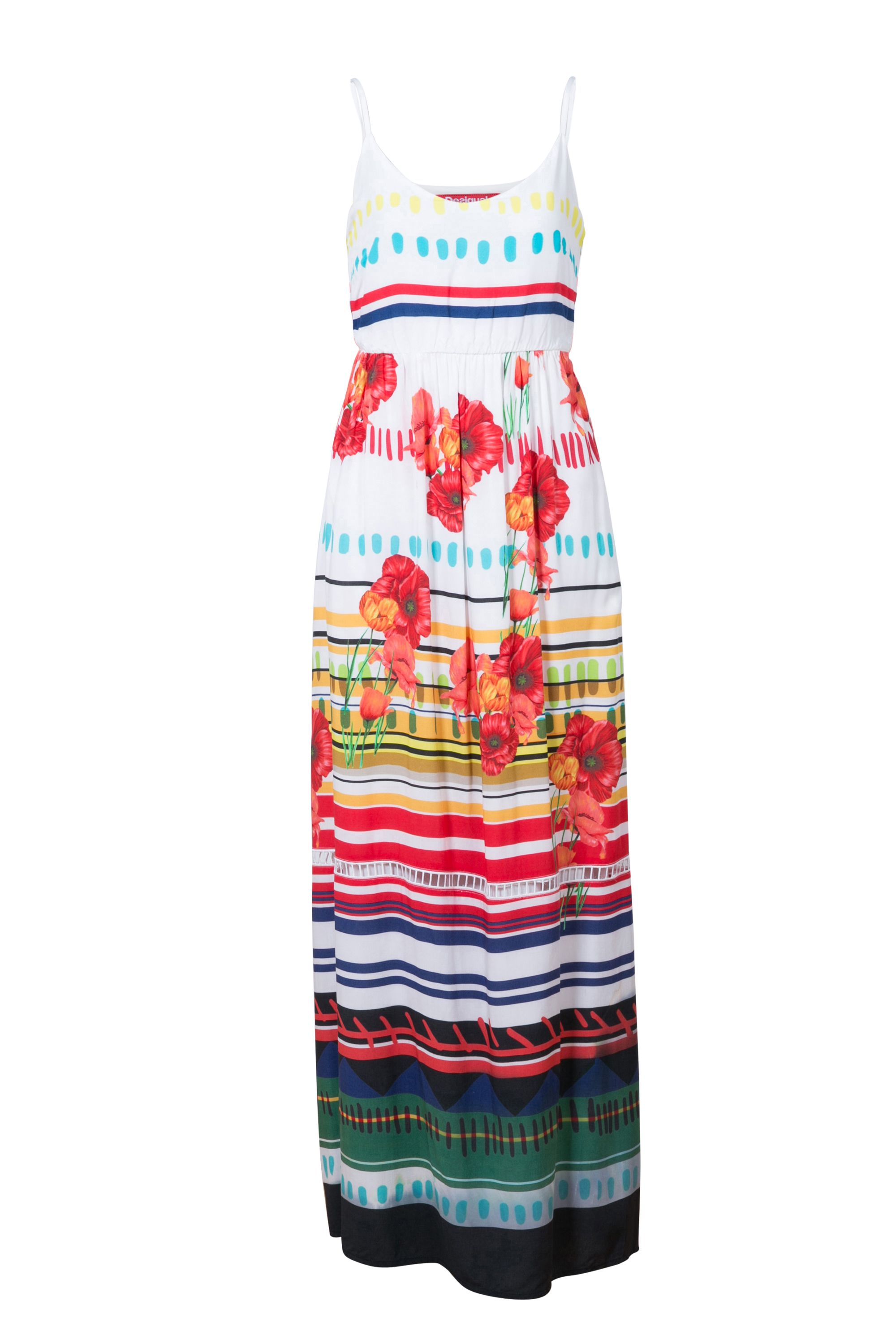 Desigual Dress Sofia, White