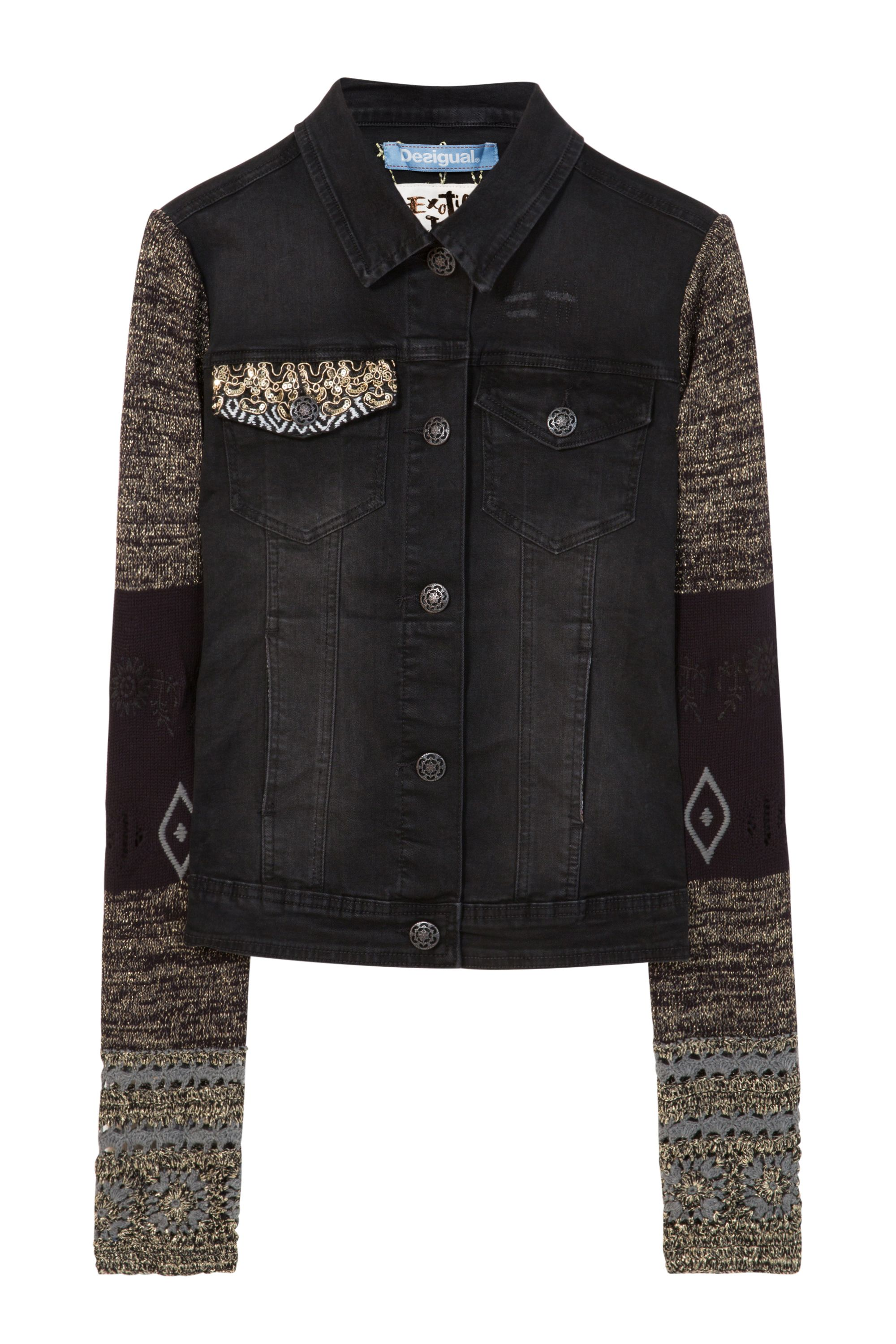 Desigual Jacket Sally, Black