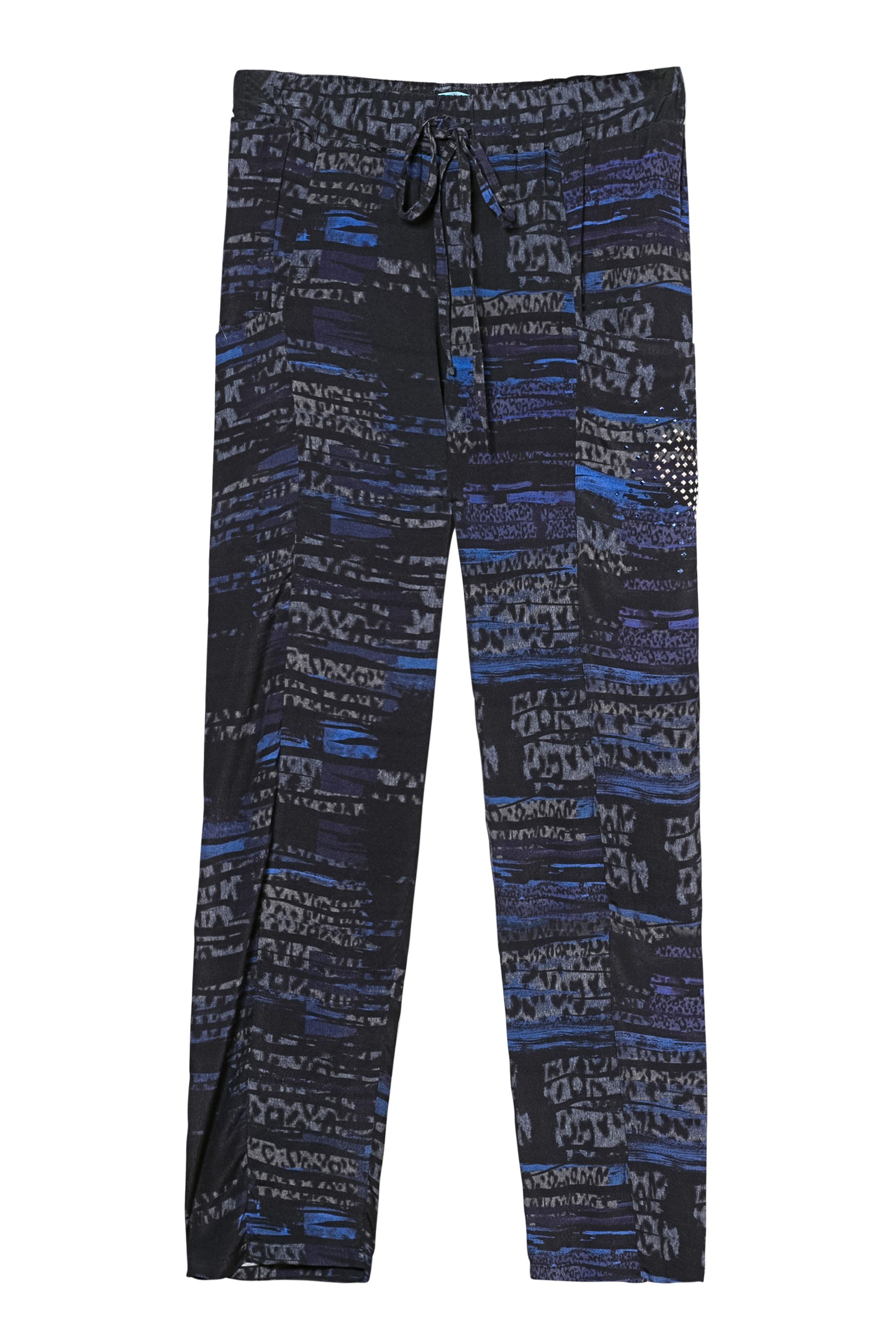 Desigual Trousers Vermont Black