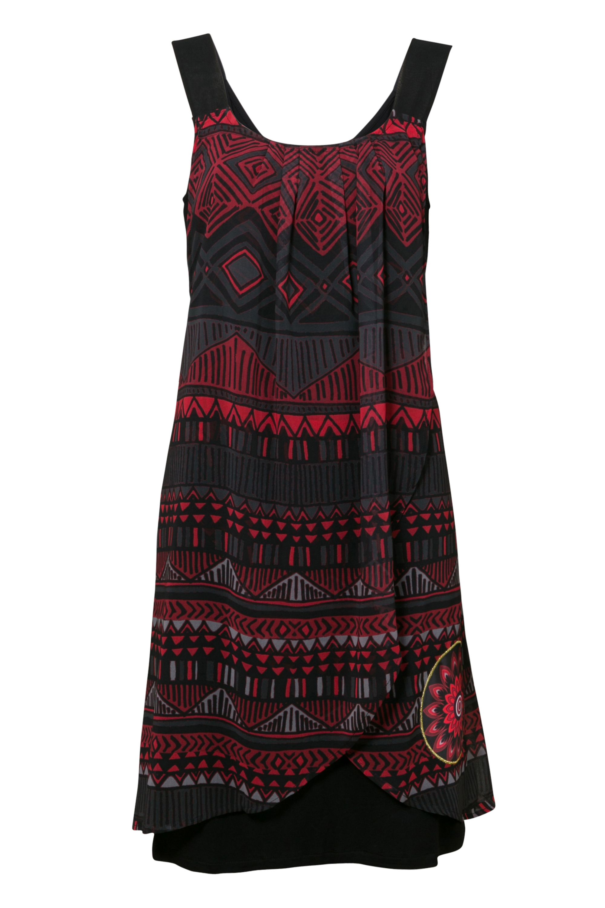 Desigual Dress Lorna Black New, Black