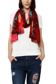 Desigual Scarves  Kaitlin Rectangle