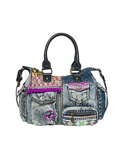Bag London Mini Exotic Jean