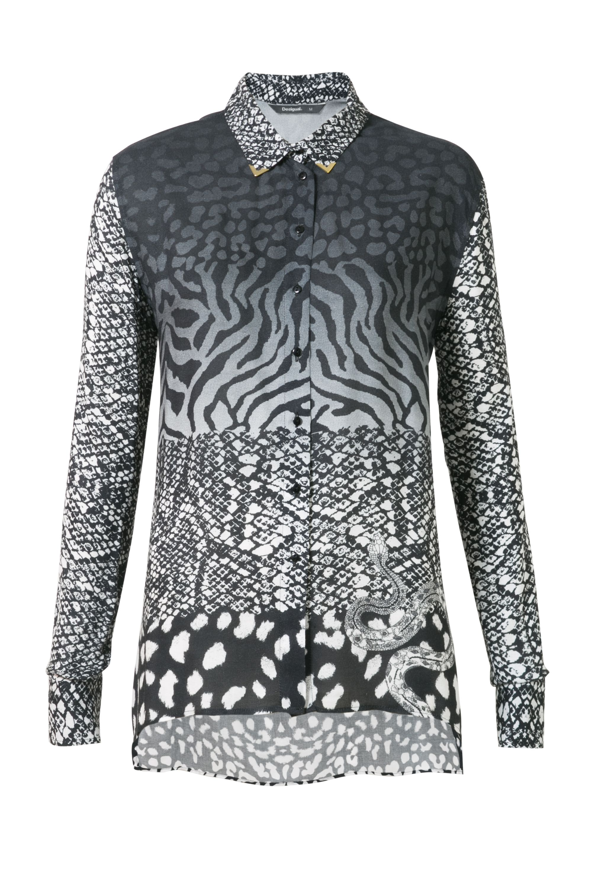 Desigual Shirt Lena, Black