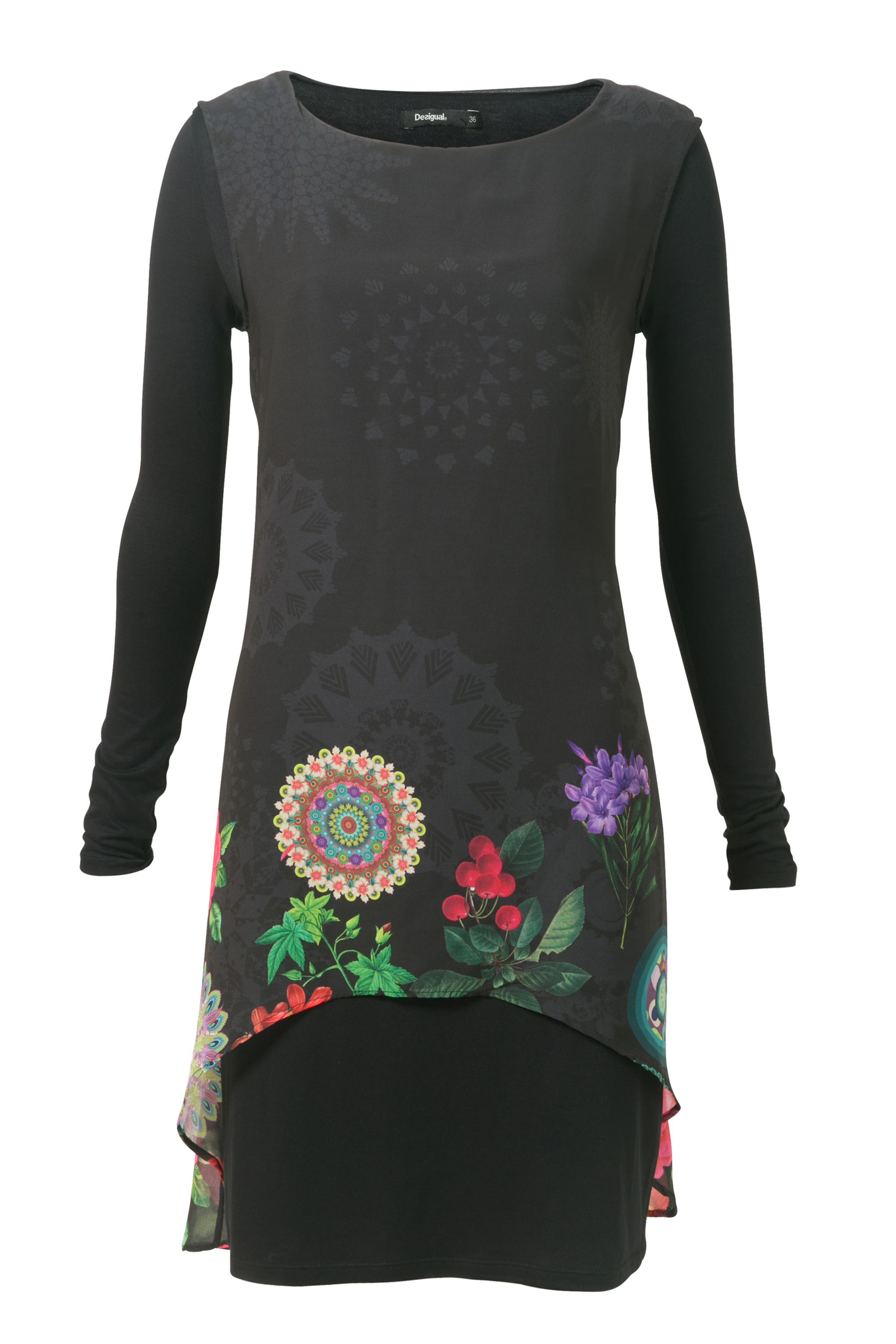 Desigual Dress Kerowac, Black