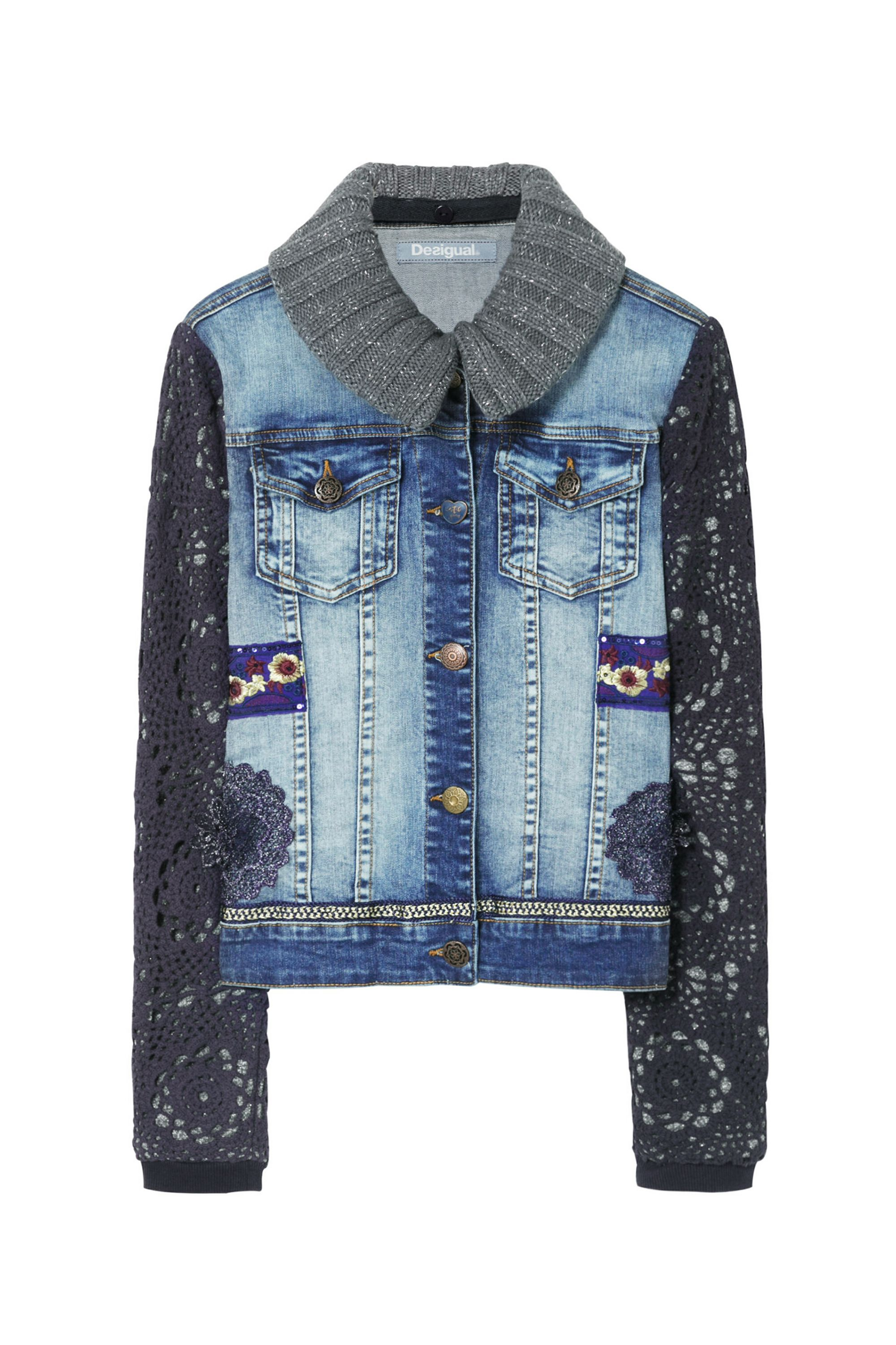 Desigual Jacket Exotic, Blue