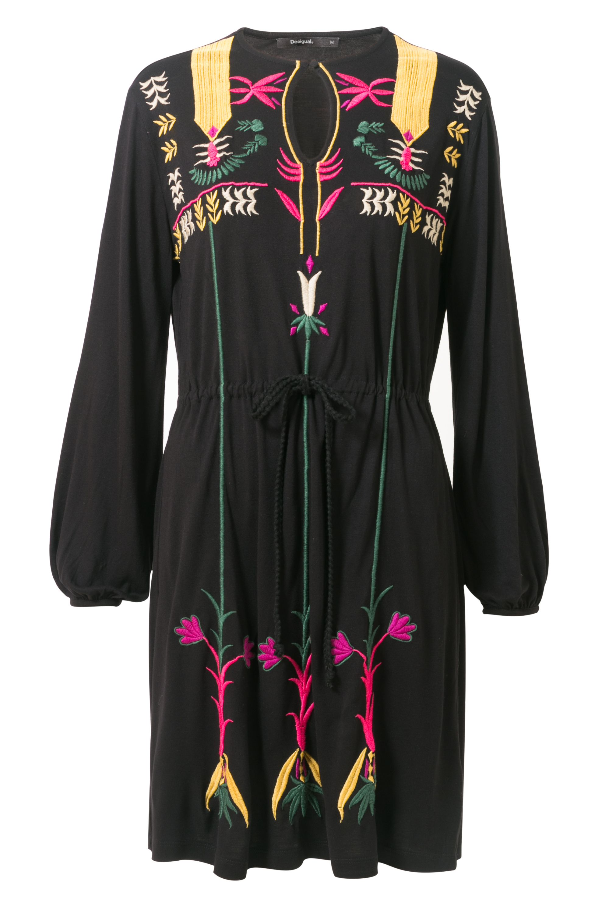 Desigual Dress Georgette, Black