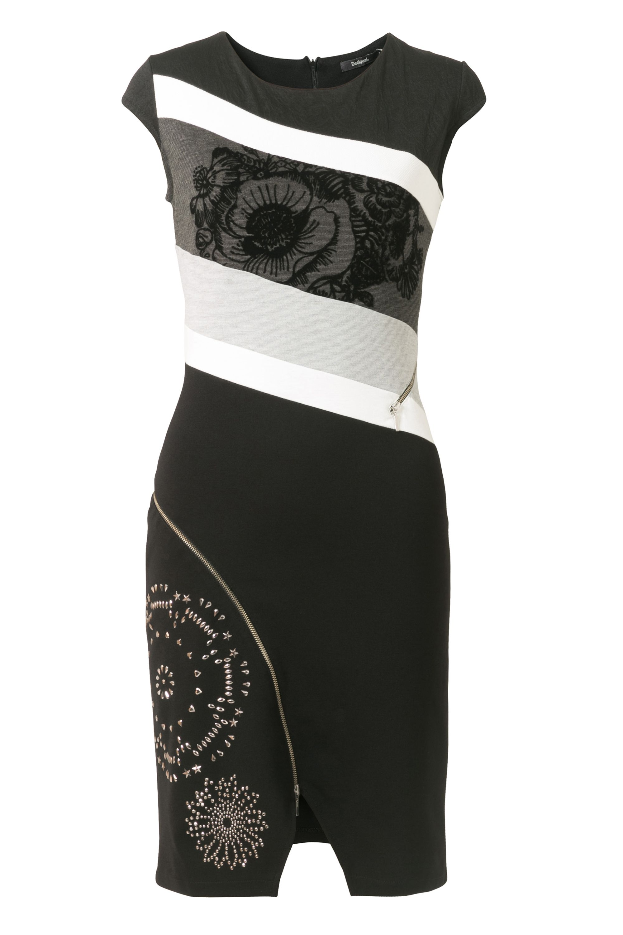 Desigual Dress Candice, Black