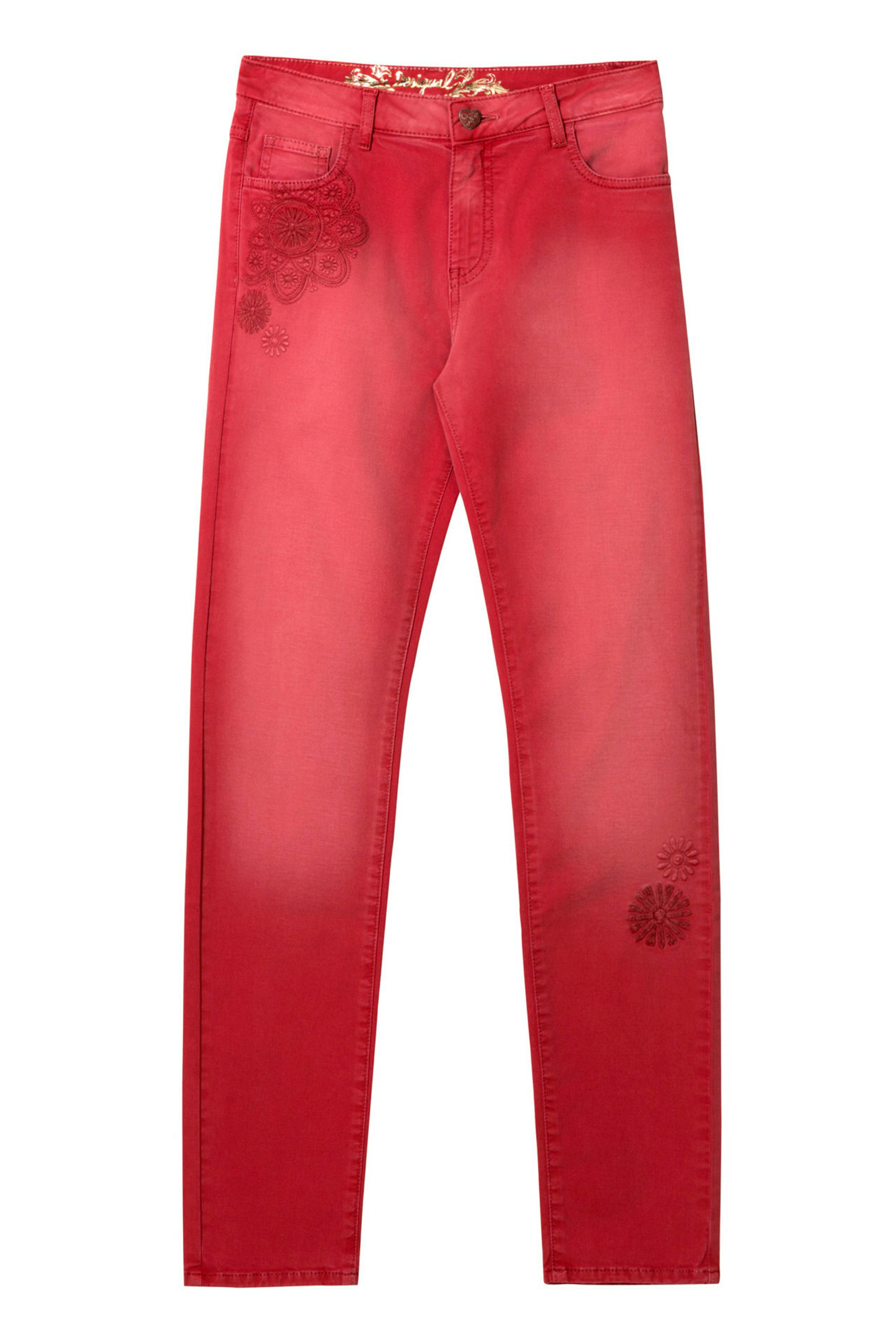 Desigual Angelinass Pant, Red