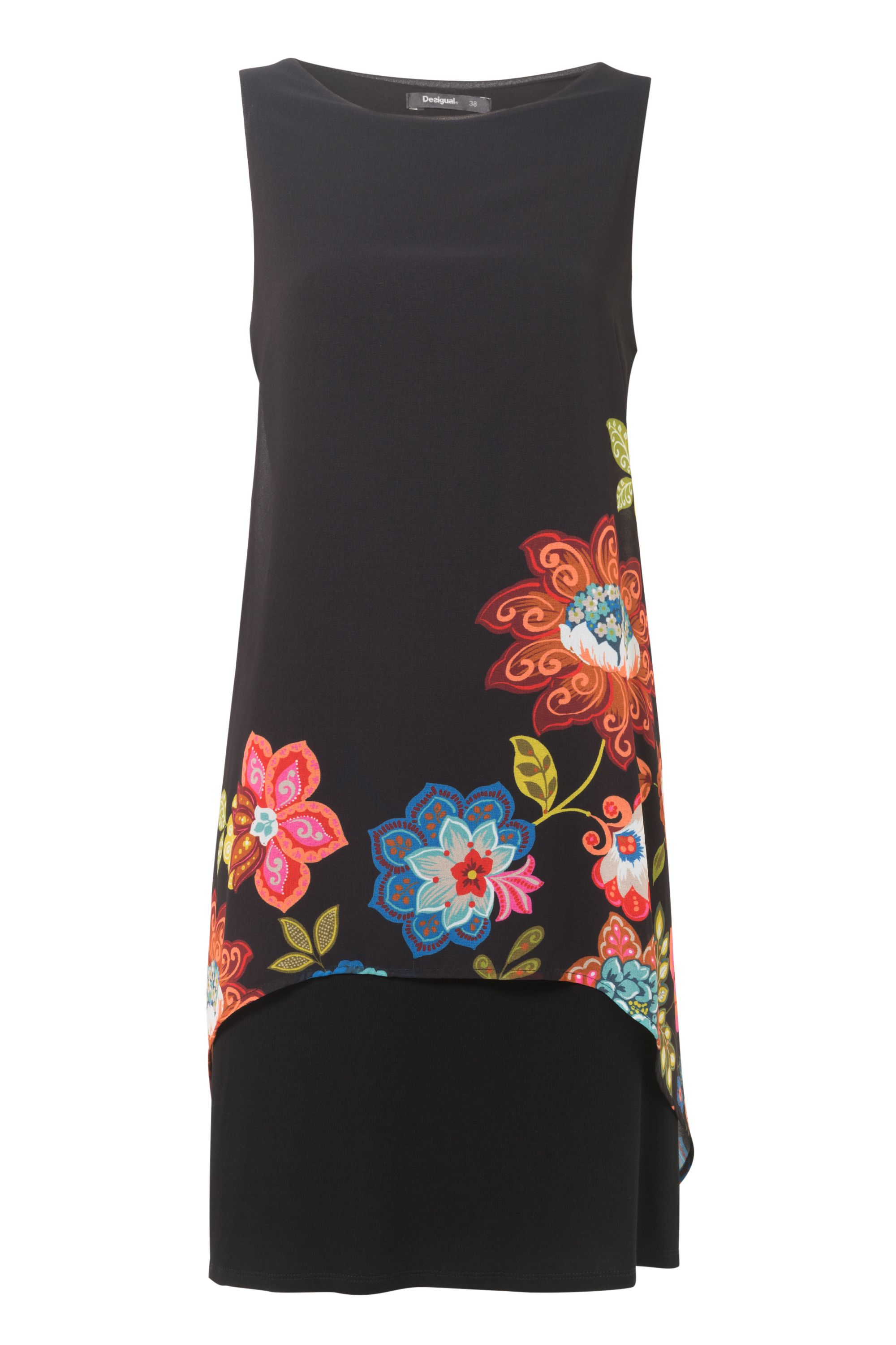 Desigual Picos Caribou Dress, Black
