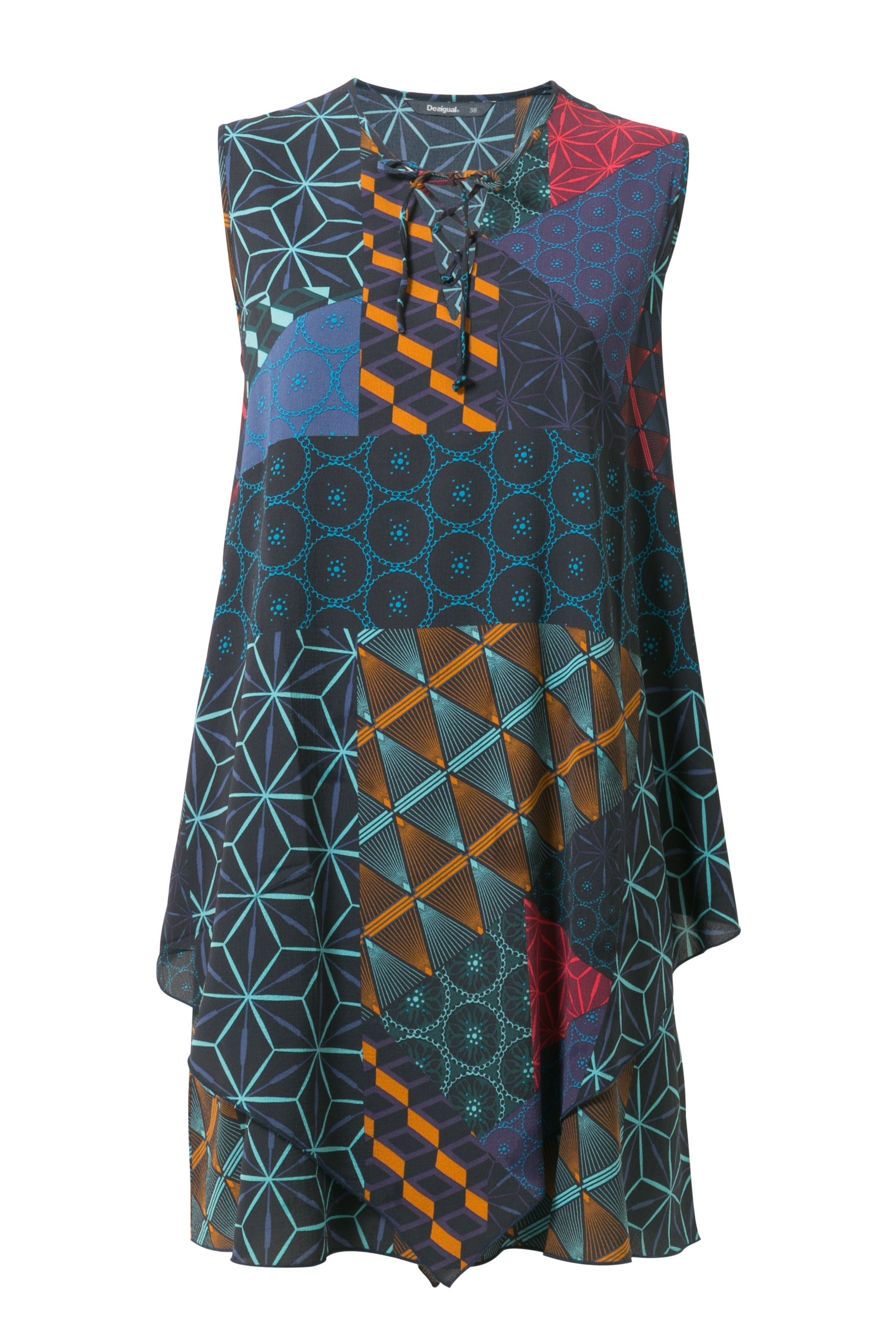 Desigual Casp Dress, Red