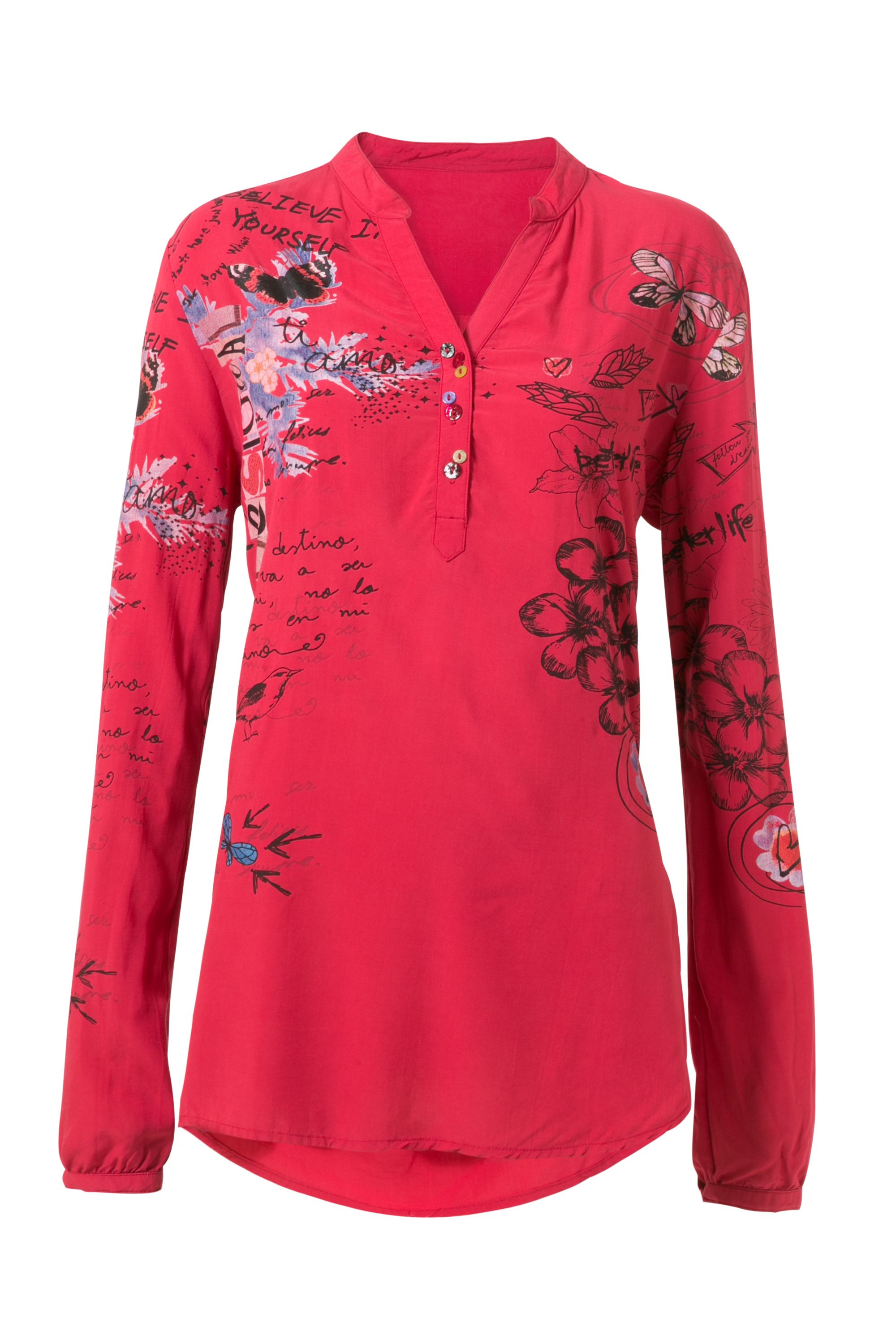 Desigual Lisa Blouse, Red