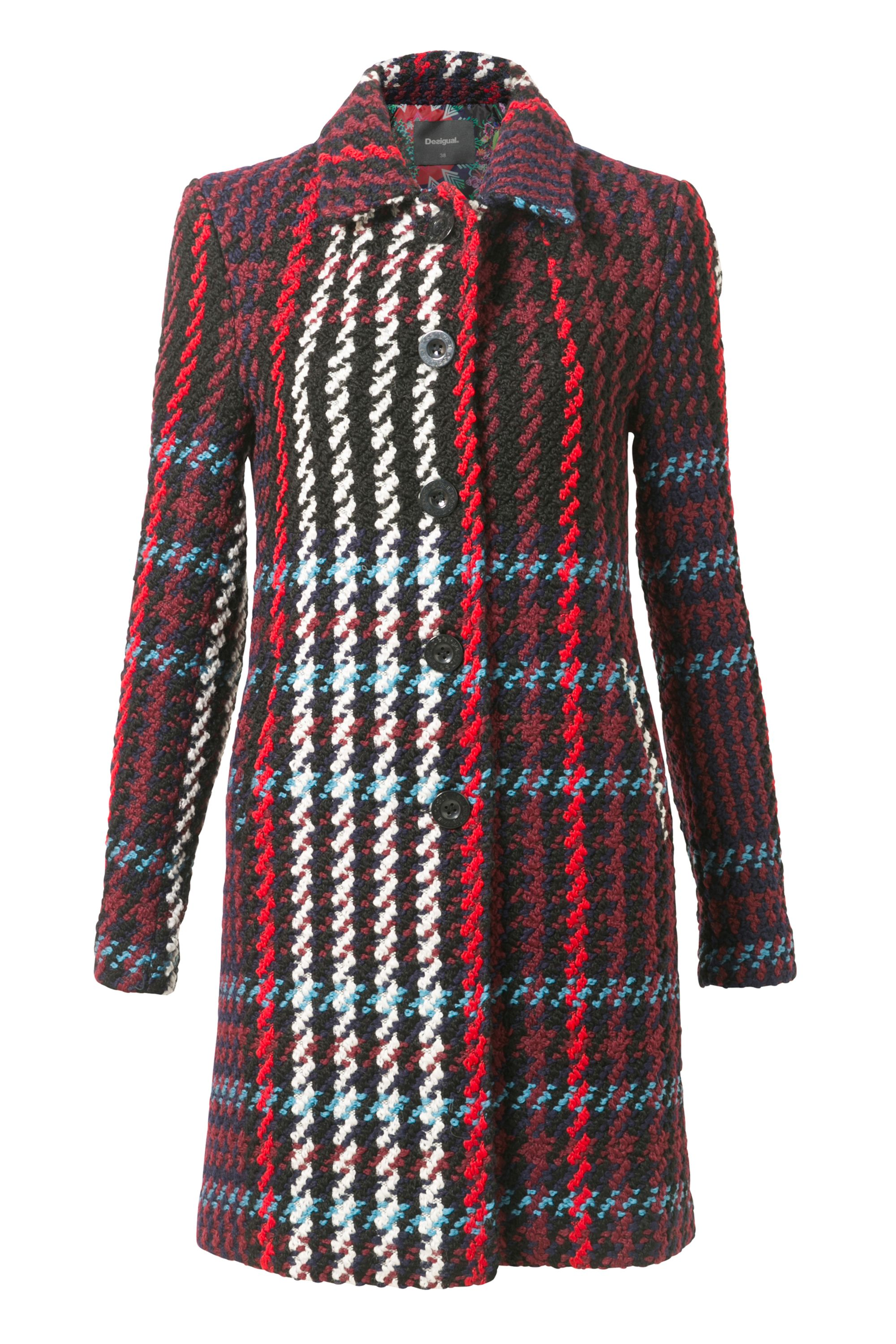 Desigual Coat Monetti, Red