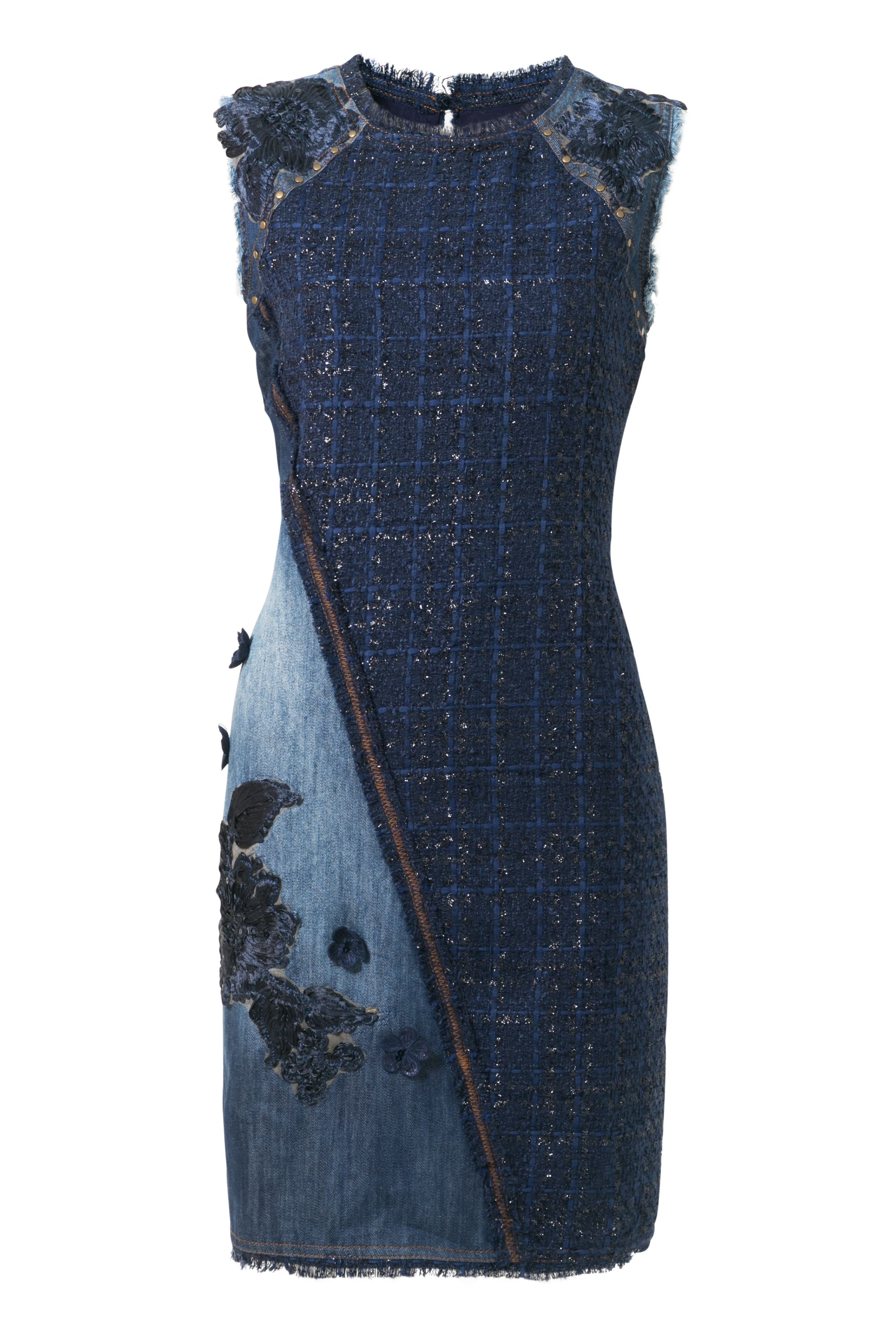 Desigual Dress Achille, Blue