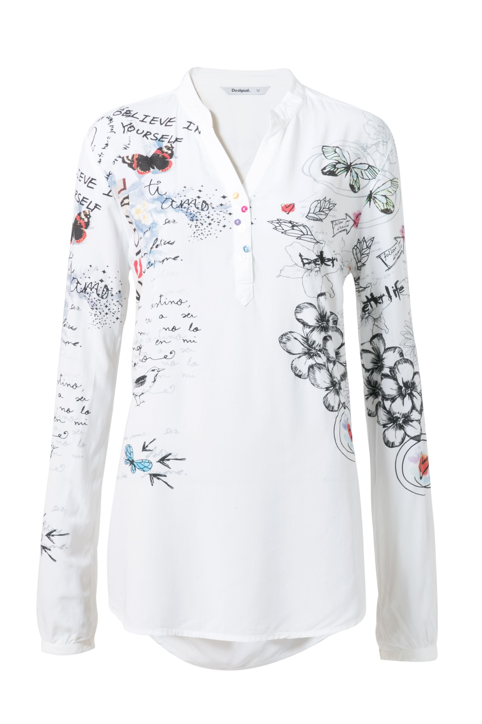 Desigual Lisa Blouse, White