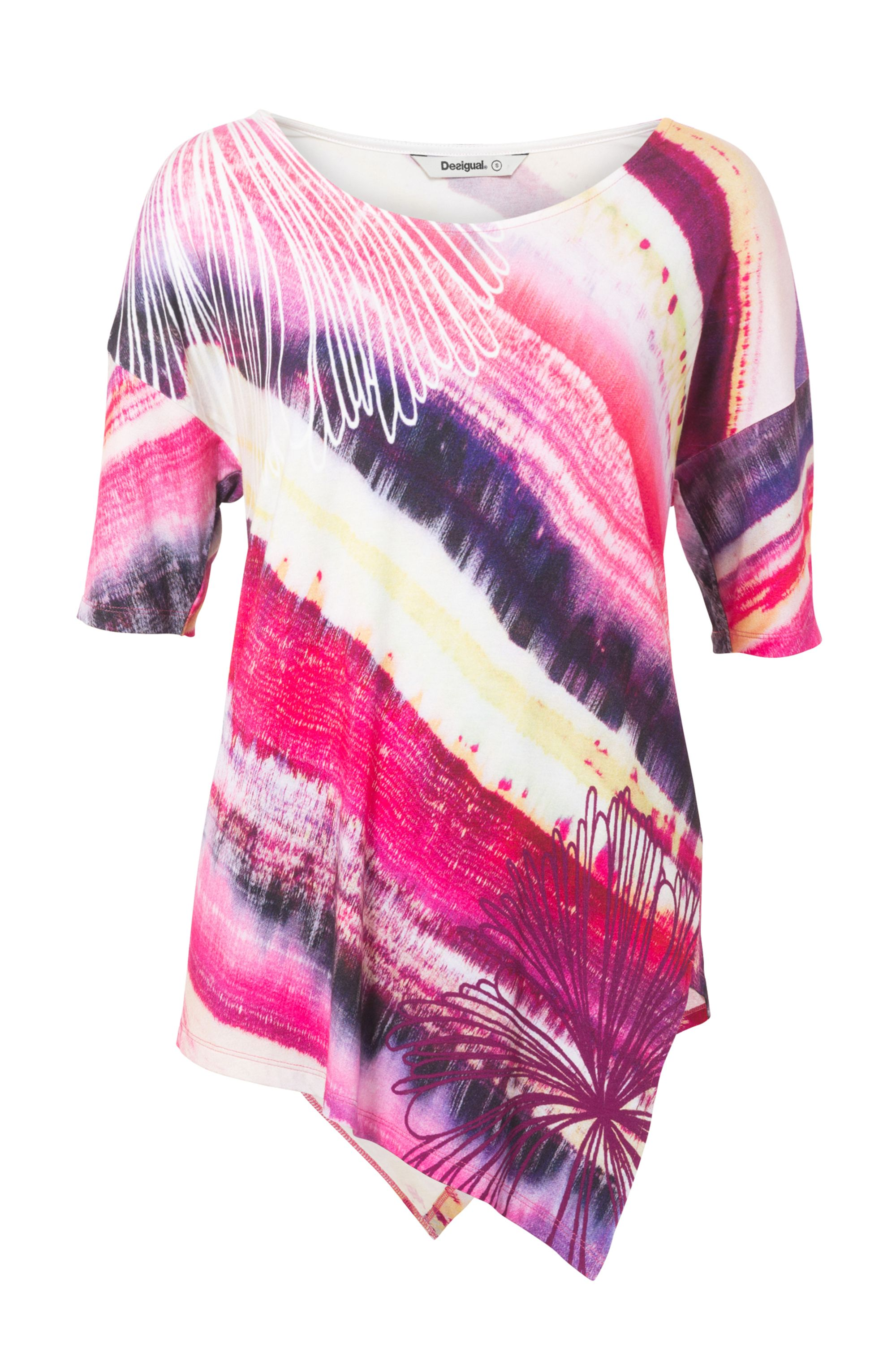 Desigual Rosita T-shirt, Purple