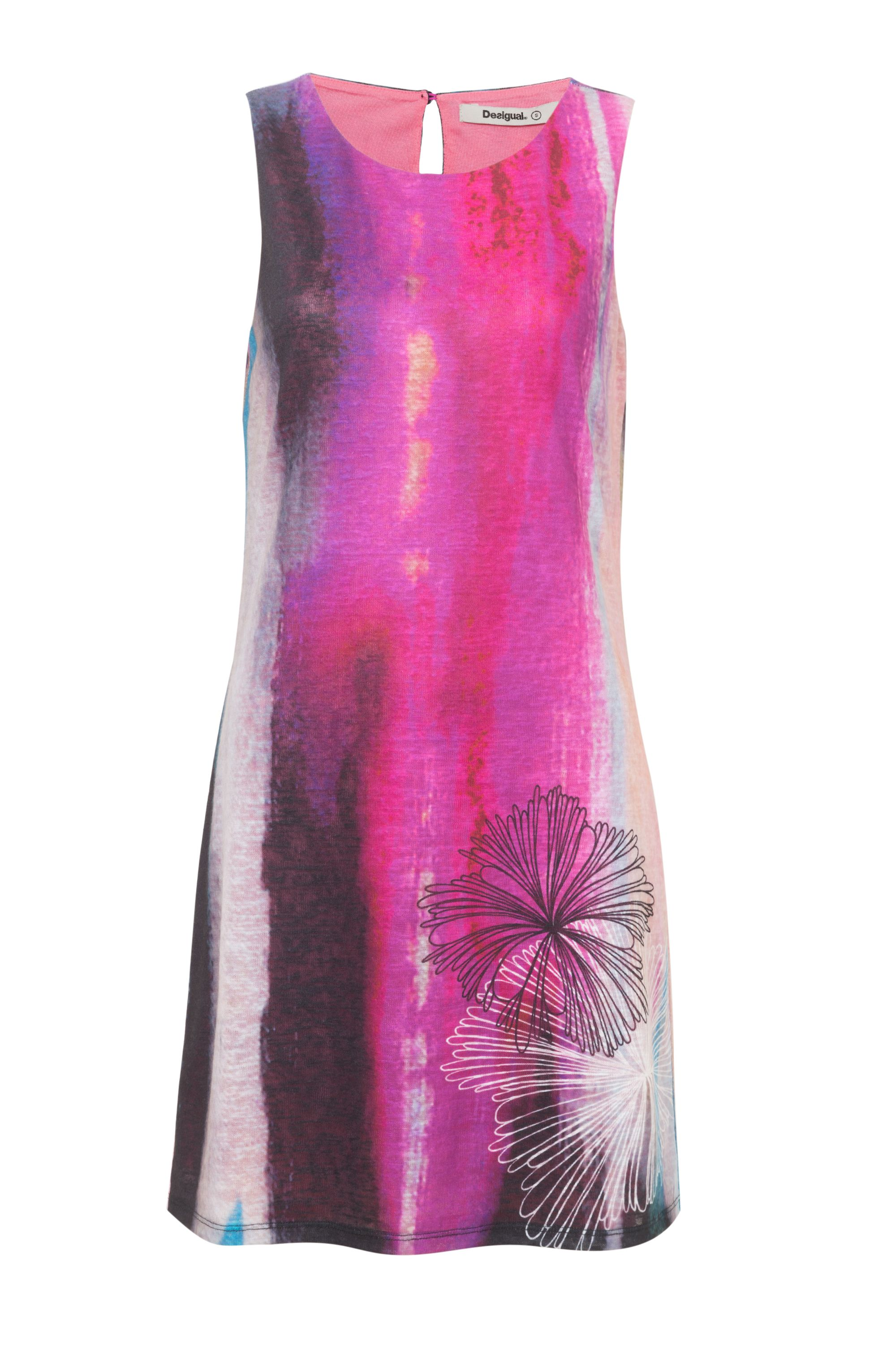 Desigual Elodie Dress, Red