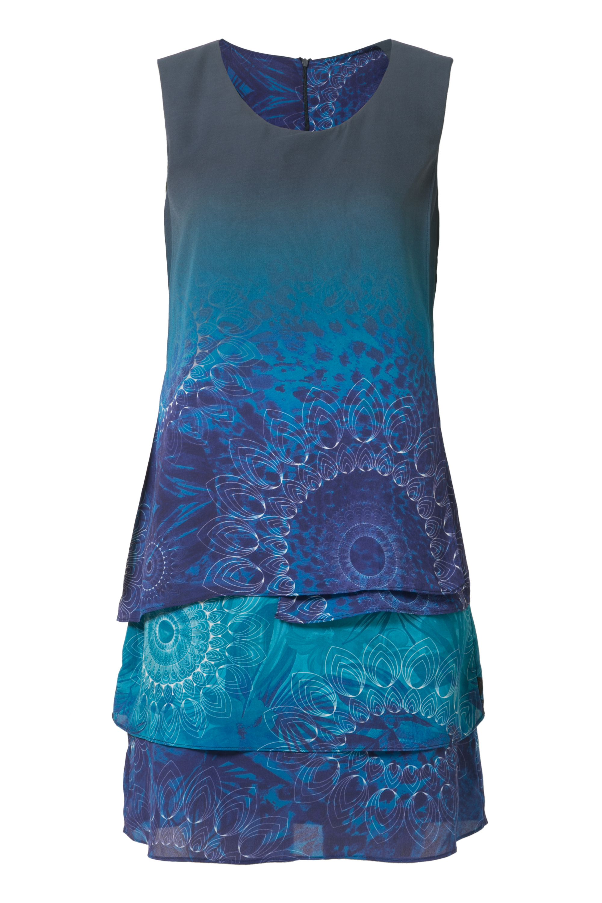 Desigual Capas Neko Dress, Blue