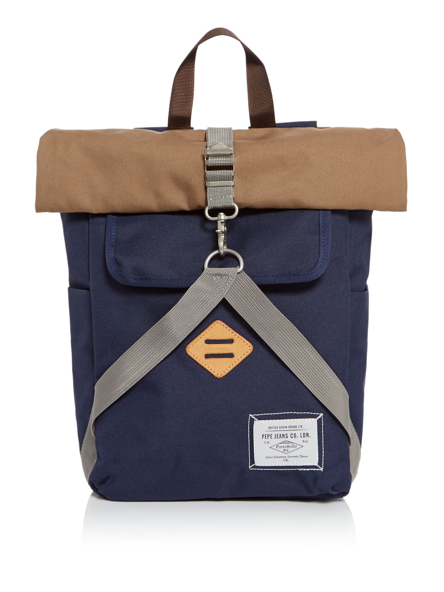 Pepe Jeans Brush Backpack, Yellow