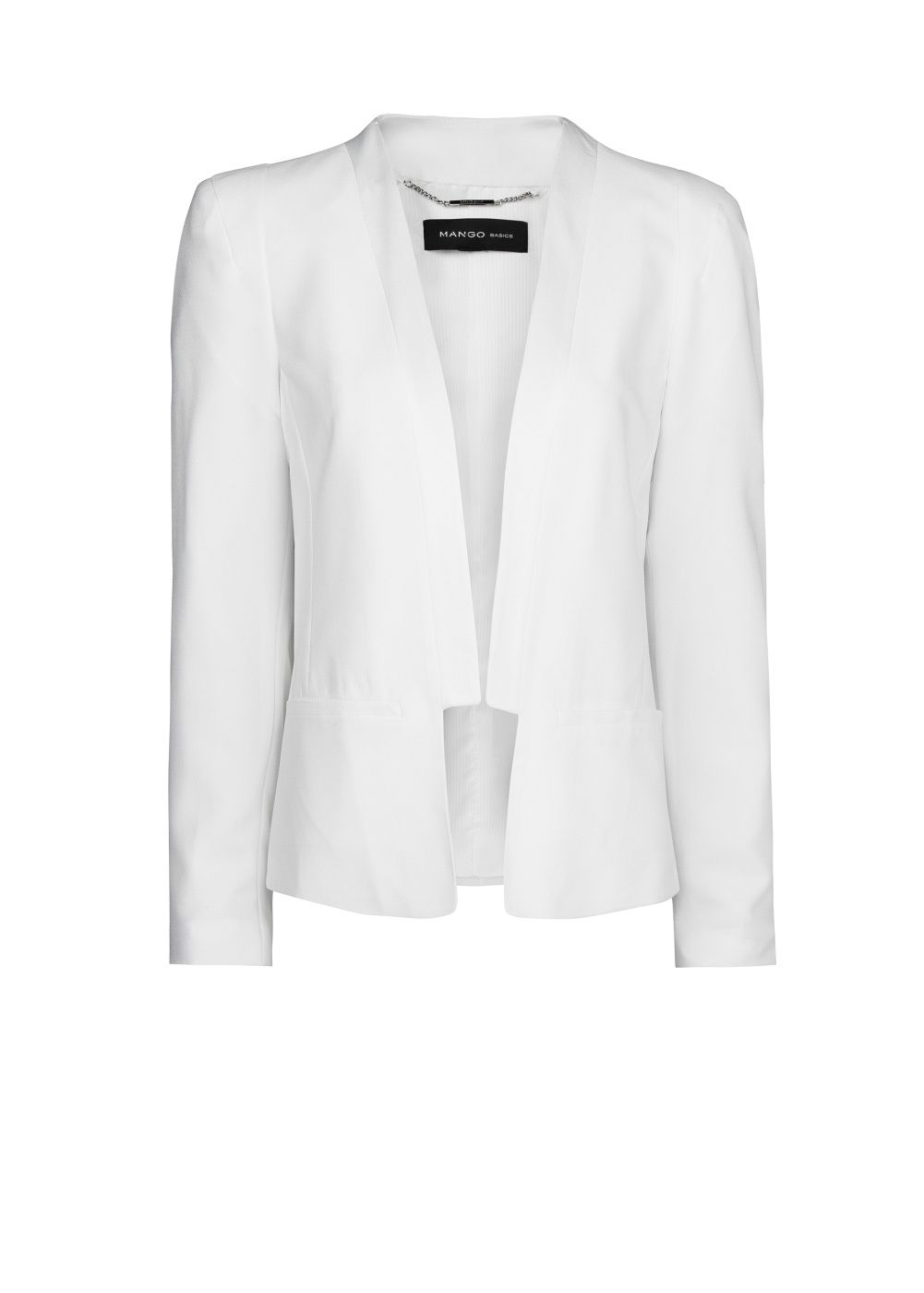 Satin edge blazer