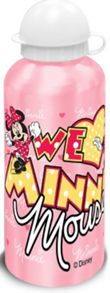 Minnie Mouse 500ml aluminium drink bottle